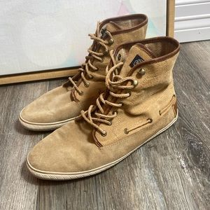 Sperry Top Sider Raleigh 10 brown corduroy boots